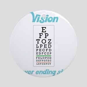 Vision Round Ornament