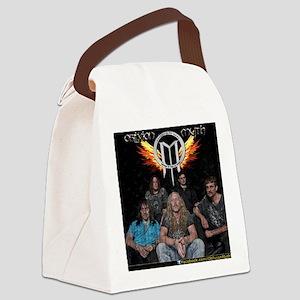 11 x 8.5 Band Photo on Diamond Pl Canvas Lunch Bag