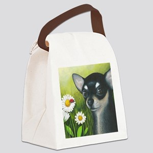 dog 79 Canvas Lunch Bag