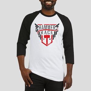 Hammer Race Badge Baseball Jersey