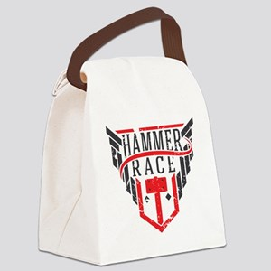 Hammer Race Badge Canvas Lunch Bag