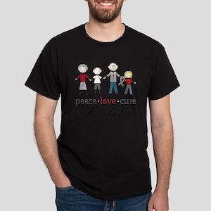Diabetes Dark T-Shirt