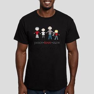 Diabetes Men's Fitted T-Shirt (dark)