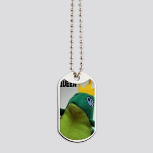I am the Queen Frog iPhone 5 Case Dog Tags