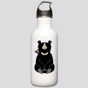Sloth Bear with Cub (d Stainless Water Bottle 1.0L