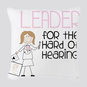 Leader Woven Throw Pillow