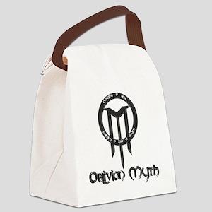 Combo Logo - Stone Dark Canvas Lunch Bag
