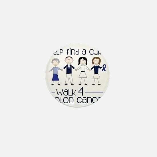 Colon Cancer Mini Button