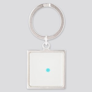 Aint a Horse Square Keychain