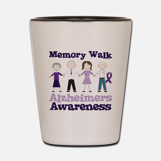 Memory Walk Shot Glass