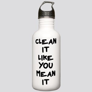 Mean Clean Stainless Water Bottle 1.0L
