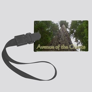 Founder's Tree Wide -  Avenue of Large Luggage Tag