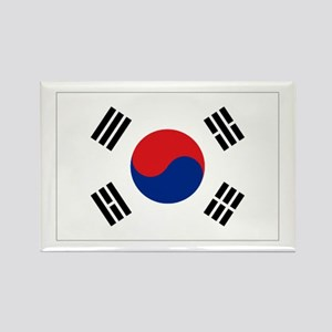 South Korean flag Rectangle Magnet
