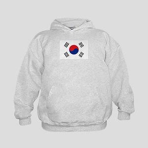 South Korean flag Kids Hoodie