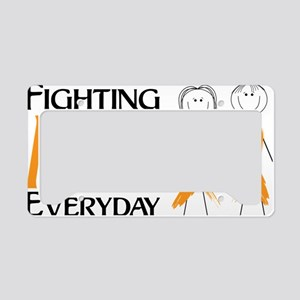 Fighting MS Everyday License Plate Holder