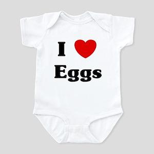 I love Eggs Infant Bodysuit