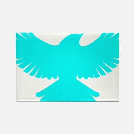 Robin Parody Bird Logo Rectangle Magnet