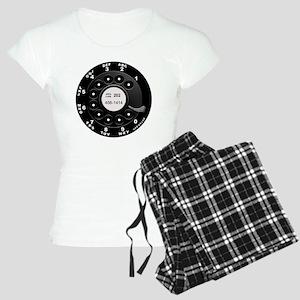 Rotary Dial Phone -T Women's Light Pajamas
