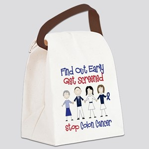 Get Screened Canvas Lunch Bag