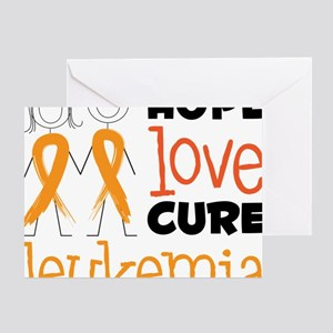 Leukemia Greeting Card