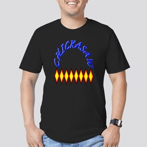 CHICKASAW TRIBE Men's Fitted T-Shirt (dark)