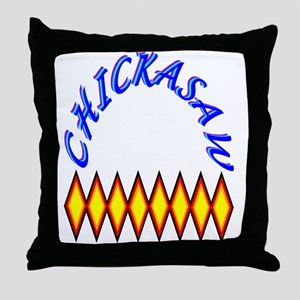CHICKASAW TRIBE Throw Pillow