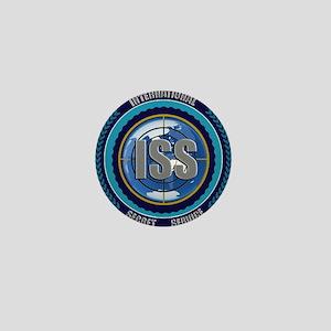 ISS Seal (black) Mini Button