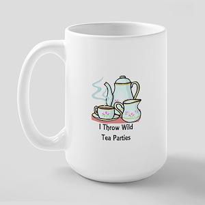 Wild Tea Parties Large Mug