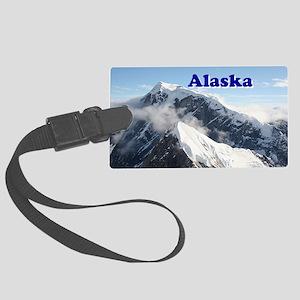 Alaska: Alaska Range, USA Large Luggage Tag