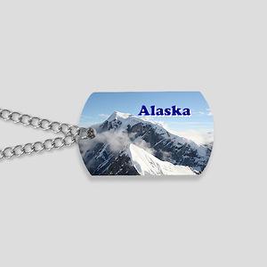 Alaska: Alaska Range, USA Dog Tags