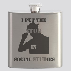 I put the Stud in Social STUDies Flask