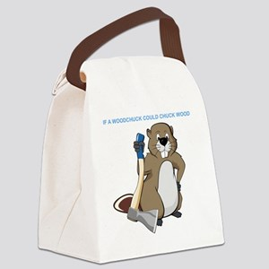 Could Chuck Wood Canvas Lunch Bag