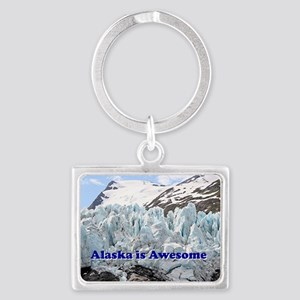 Alaska is Awesome: Portage Glac Landscape Keychain