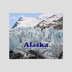 Alaska: Portage Glacier, USA Throw Blanket