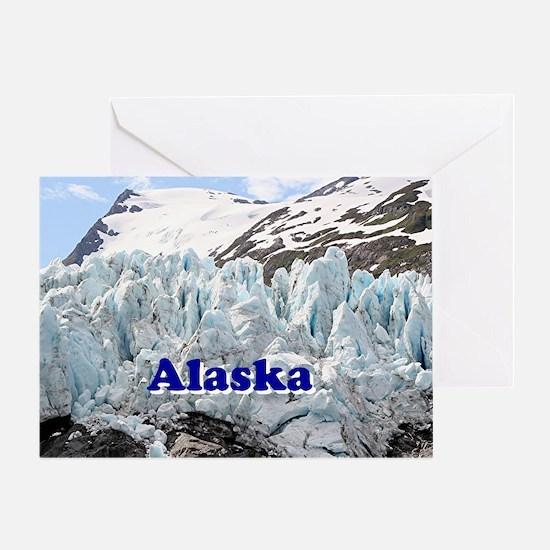 Alaska: Portage Glacier, USA Greeting Card