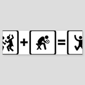 Workout-AAN1 Sticker (Bumper)