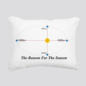 The Reason for the Seaso Rectangular Canvas Pillow