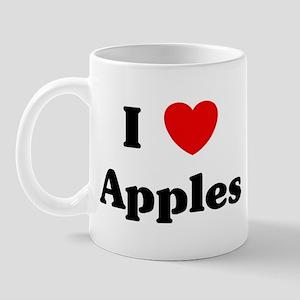 I love Apples Mug