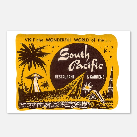 South Pacific Tiki Bar Postcards (Package of 8)