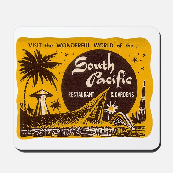 South Pacific Tiki Bar Mousepad