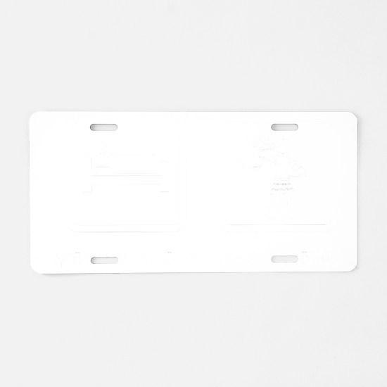Bagpiper-ABN2 Aluminum License Plate