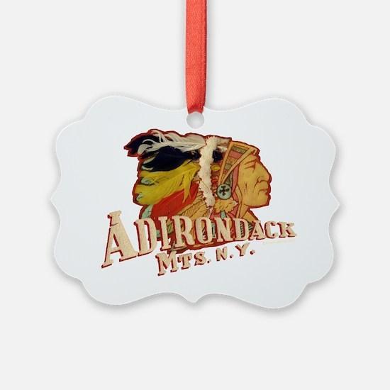Adirondack Indian Ornament
