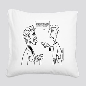 4058 Square Canvas Pillow