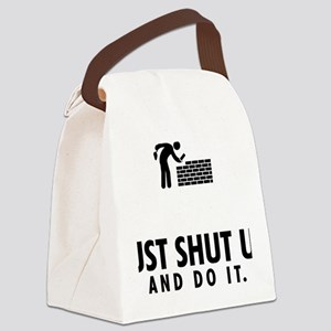 Bricklayer-AAU1 Canvas Lunch Bag
