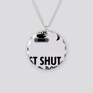 Excavator-AAU1 Necklace Circle Charm