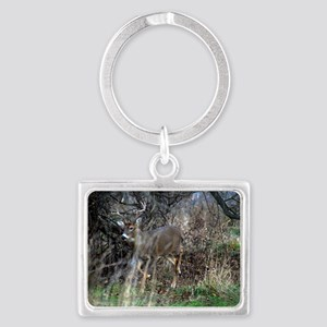 on the prowl Landscape Keychain