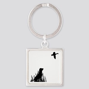 Duck Hunt Square Keychain