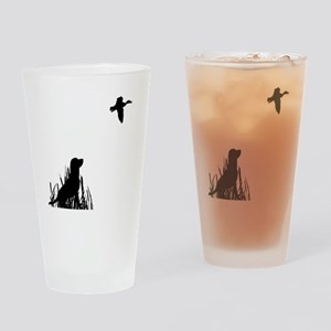 Duck Hunt Drinking Glass