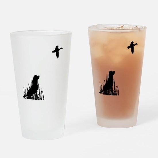 Duck Hunt Drinking Glass