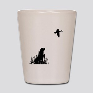 Duck Hunt Shot Glass